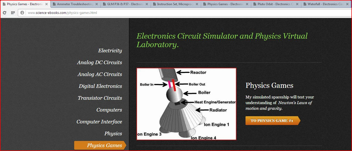 PC Power Teaching - Electronics Circuit Simulator and